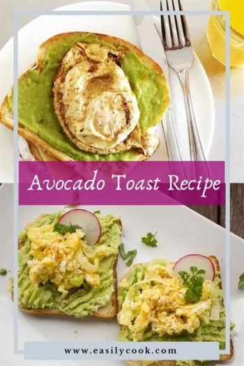 Avocado Toast Recipe with Egg