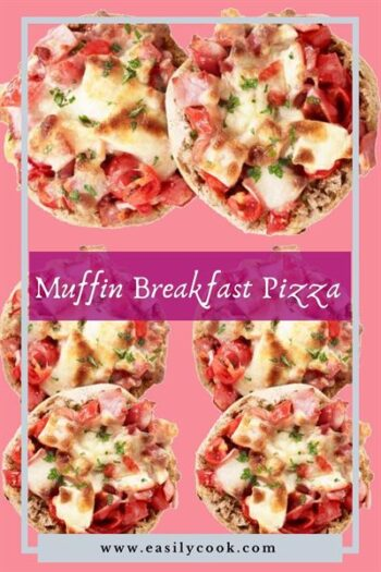 Easy Muffin Breakfast Pizza