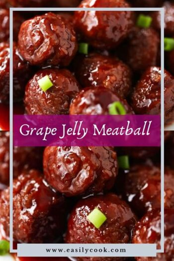 grape jelly meatball recipe