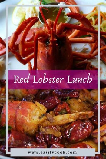 red lobster lunch