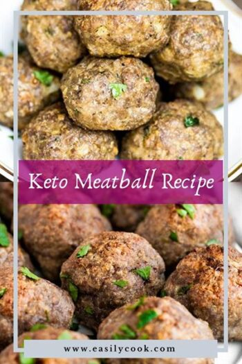 keto meatball recipe