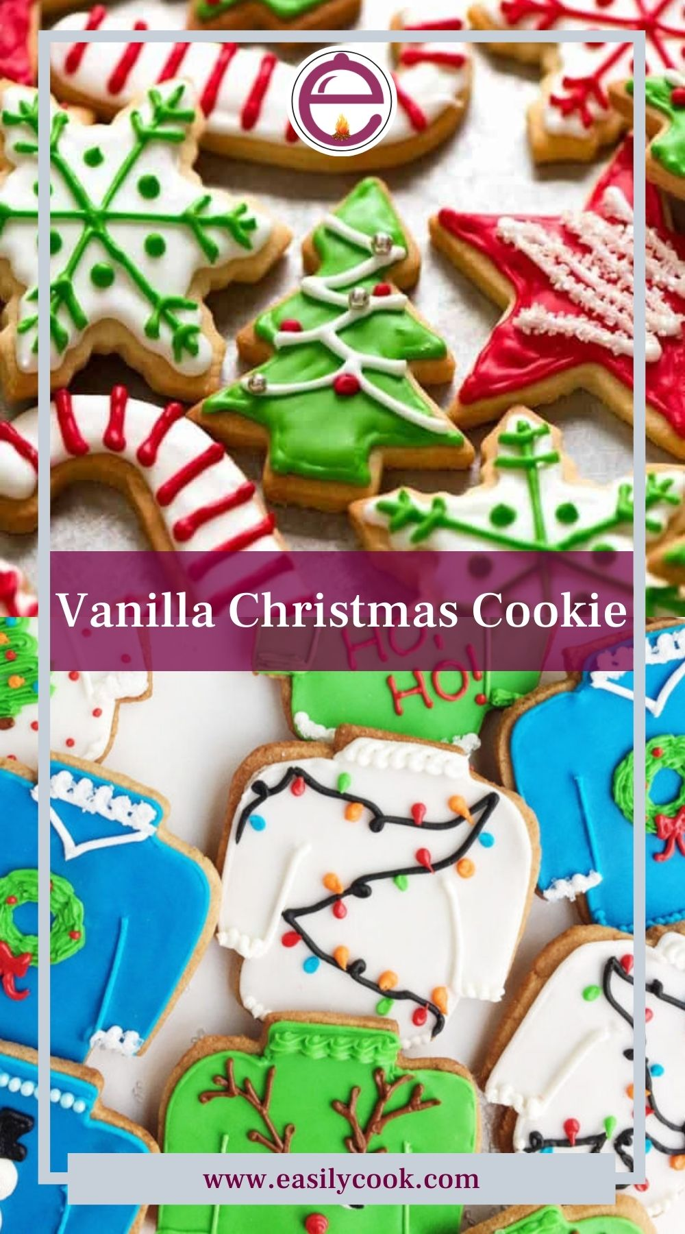 Vanilla Christmas Cookie