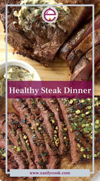 Healthy Steak Dinner