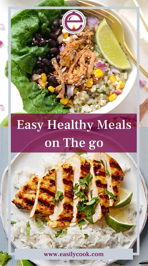 Easy Healthy Meals on The go