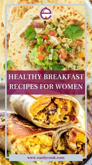 HEALTHY BREAKFAST RECIPES FOR WOMEN