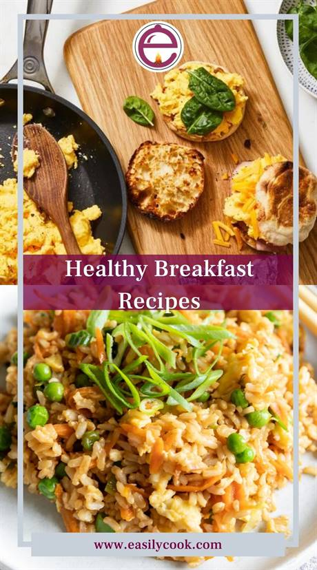 Kinds of Ingredients for Making Easy Healthy Breakfast Recipes